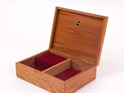 small jewellery box navy