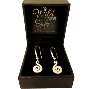 X 30 Small Koru earrings