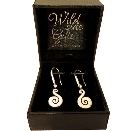 Small Koru earrings
