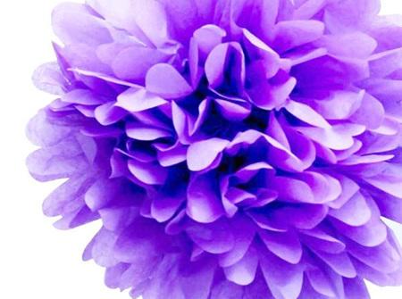 Small Lilac pom pom - 21cm