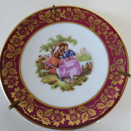 Small Limoges plate