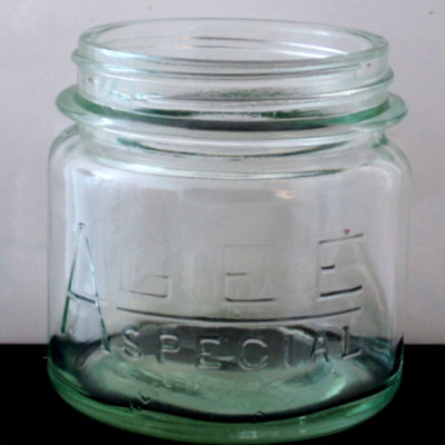 Small or large Agee Special jars