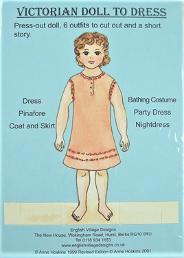 Small Paper Doll: Victorian Girl