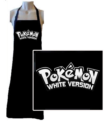 Small runs custom printed aprons for business, schools and clubs