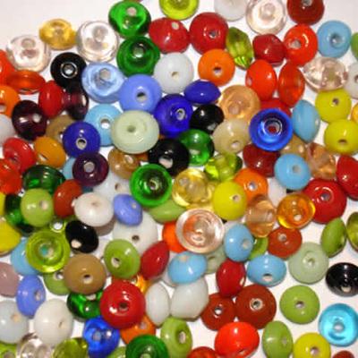 Small Saucer Bead Mix