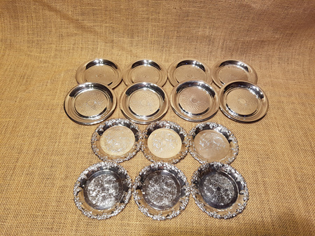 Small Silver Dishes