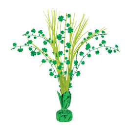 Small St Patrick's Day centrepiece