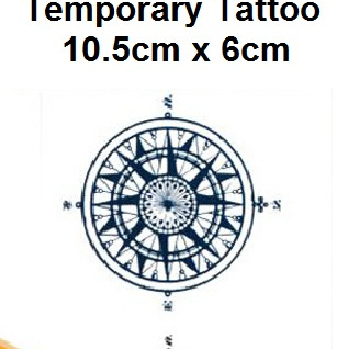 Small Temporary Tattoo Sticker 10.5cmX6cm