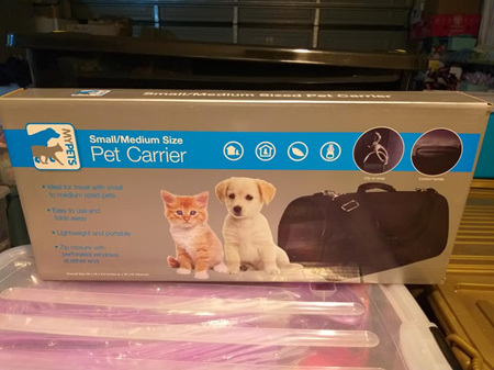 Small to Medium Pet Carrier