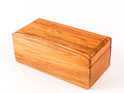 small trinket box with hinge made from rimu - New Zealand made