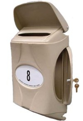 Small Vandal Resistant Letterbox