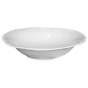 Small white dragonfly salad bowl