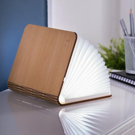 Smart LED Light Book - Maple
