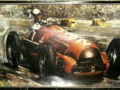 Smer 1/24 Alfa Romeo Type 158 Model Z Roku 1950