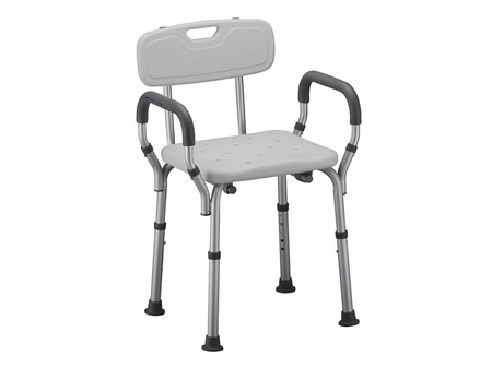 SMIK SHOWER CHAIR WITH ARMS