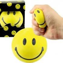 Smiley face stress ball PLU4516