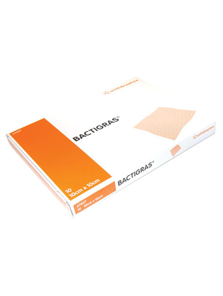 Smith & Nephew Bactigras 10Cm X 10Cm