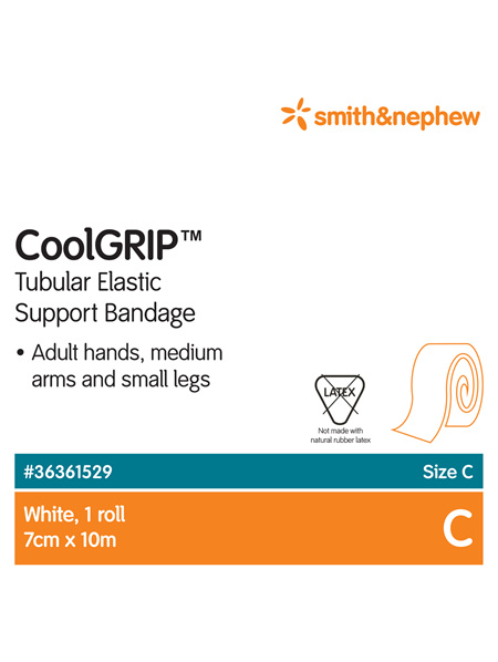 Smith & Nephew Coolgrip Tubl Supp (C) 7Cm X 10M