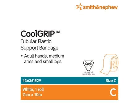 Smith & Nephew Coolgrip Tubl Supp (C) 7Cm X 1M