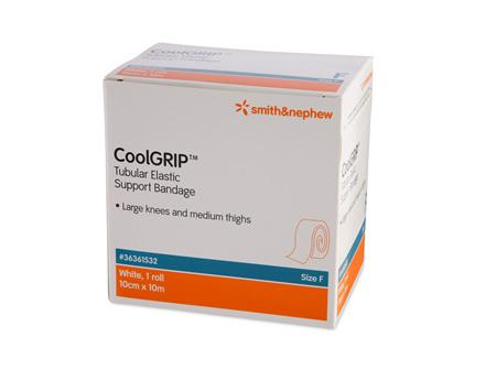 Smith & Nephew Coolgrip Tublr Supp (F) 10.0Cm X 1M