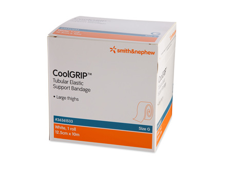 Smith & Nephew Coolgrip Tublr Supp (G) 12.5Cm X 10M