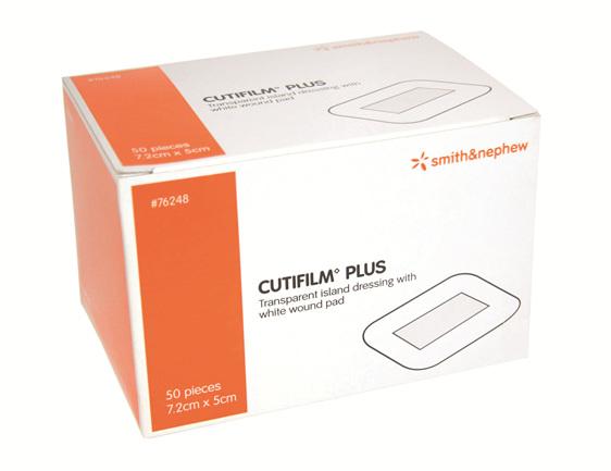 Smith & Nephew Cutifilm Plus Wht Pad 5X7.2Cm