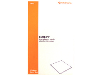 Smith & Nephew Cutilin Sterile Pad 10X10Cm 100/Box
