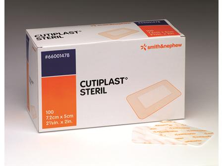Smith & Nephew Cutiplast Sterile 7.2 X 5Cm 100/Box
