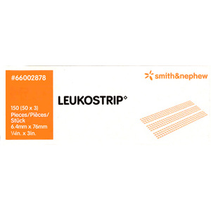 Smith & Nephew Leukostrip Clsr 6.4X76Mmx3
