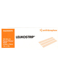 Smith & Nephew Leukostrip Clsr 6.4X76Mmx3 - 50/Box