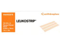 Smith & Nephew Leukostrip Clsr 6.4X76Mmx3 - 50/Box