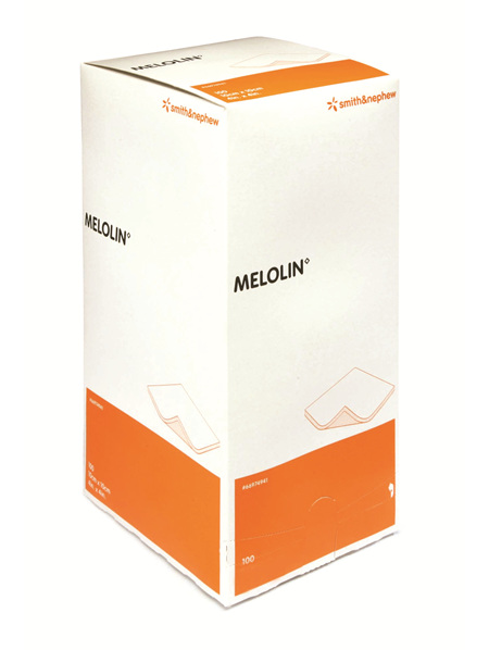 Smith & Nephew Melolin 10Cm X 10Cm Box 100