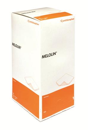 Smith & Nephew Melolin 10Cm X 10Cm Box 100