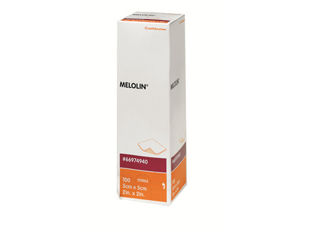 Smith & Nephew Melolin 5Cm X 5Cm Box 100