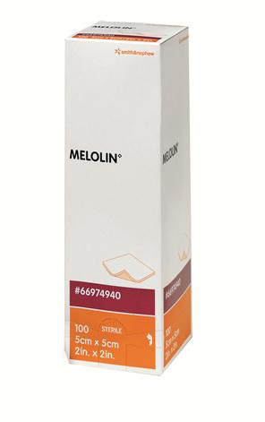 Smith & Nephew Melolin 5Cm X 5Cm Box 100