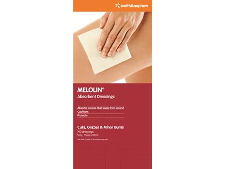 Smith & Nephew Melolin Absorb 10 X 10 Cm