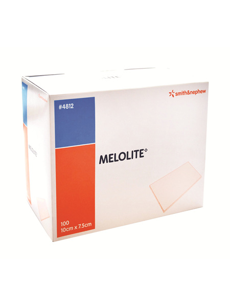 Smith & Nephew Melolite Abs Dres 10X7.5Cm 100/Box