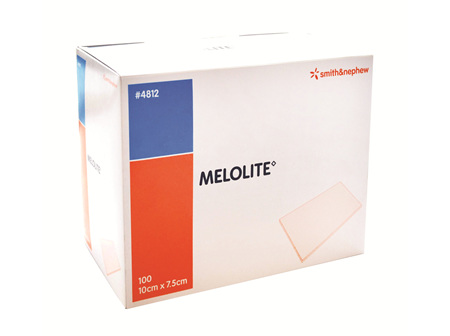 Smith & Nephew Melolite Abs Dres 10X7.5Cm 100/Box