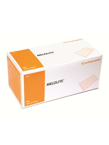 Smith & Nephew Melolite Abs Dres 5X7.5Cm 100/Box