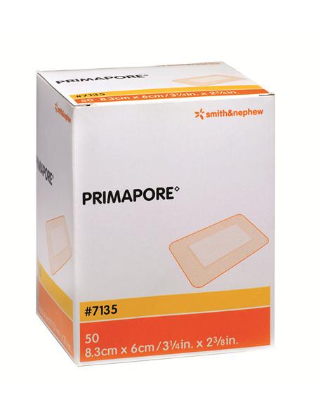 Smith & Nephew Primapore Dres 8.3 X 6Cm 50/Box