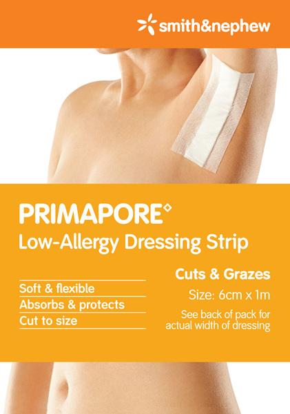 Smith & Nephew Primapore Dres Strip 6X1M 1/Cspack