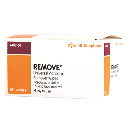 Smith & Nephew Remove Adhesive Wipes