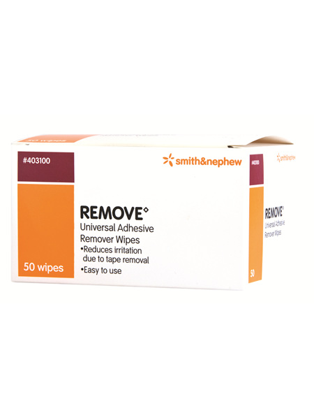 Smith & Nephew Remove Adhsv Wipes 50/Box