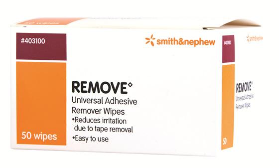 Smith & Nephew Remove Adhsv Wipes 50/Box