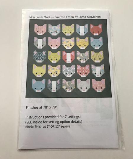 Smitten Kitten Quilt Pattern