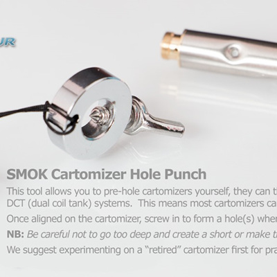 SMOK Cartomizer Hole Punch