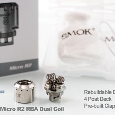 SMOK Micro R2 RBA Dual Coil