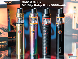 SMOK Stick V8 Big Baby Kit - 3000mAh
