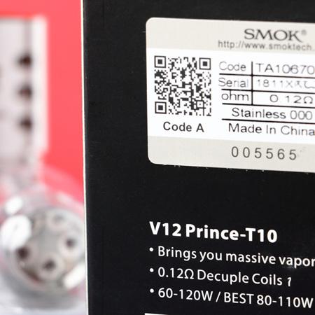 SMOK V12 - Prince T10 - 0.12ohm
