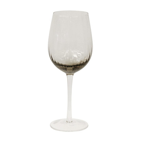 Smoke Wine Glasses set 4